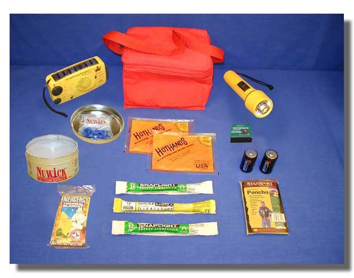 Personal Power Outage Response Kit