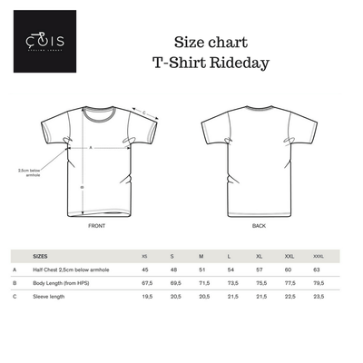 ÇOIS Kannibaal Cycling T-Shirt White
