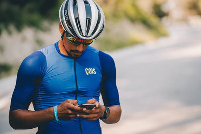 ÇOIS Rouleur Cycling Jersey Blue