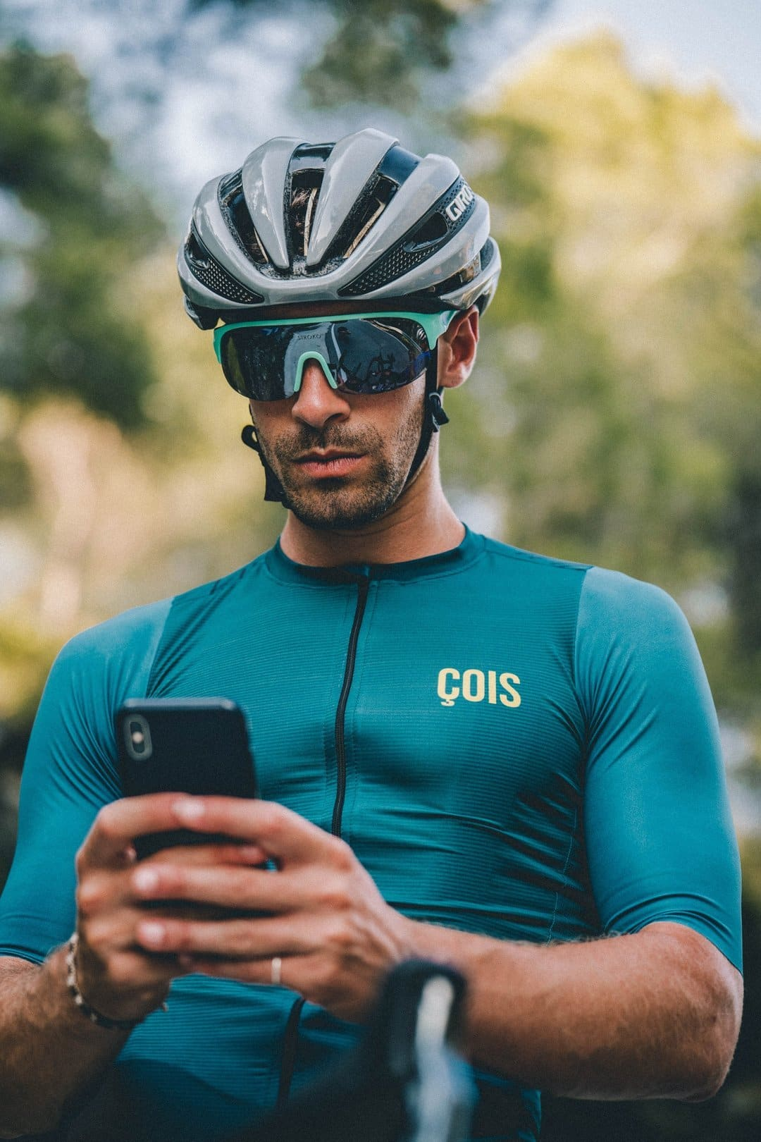 ÇOIS Rouleur Cycling Jersey Green