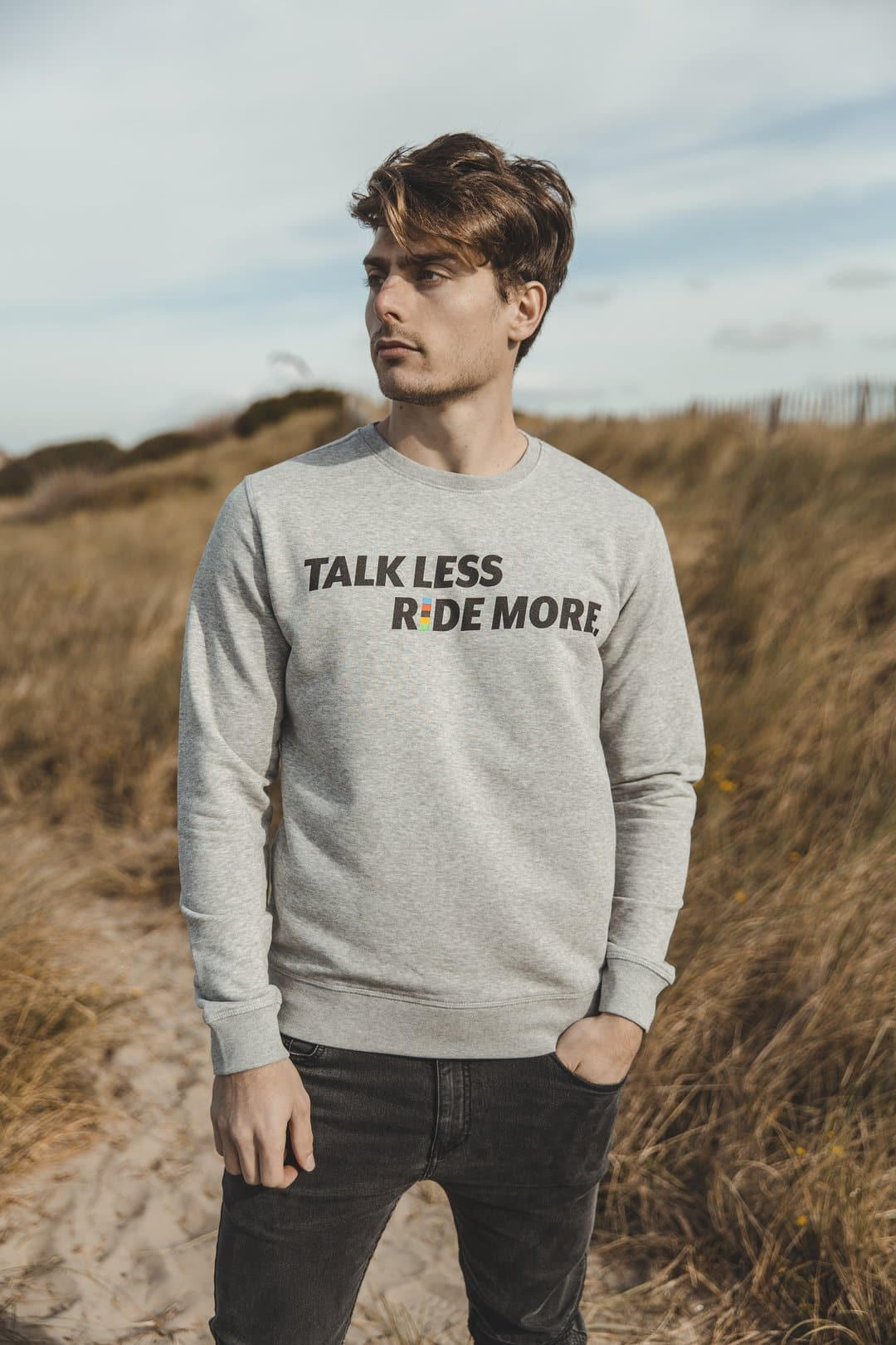 ÇOIS TALK LESS RIDE MORE Cycling Sweater