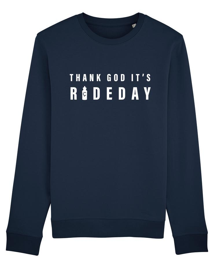 ÇOIS THANK GOD IT'S RIDEDAY 2.0 Cycling Sweater