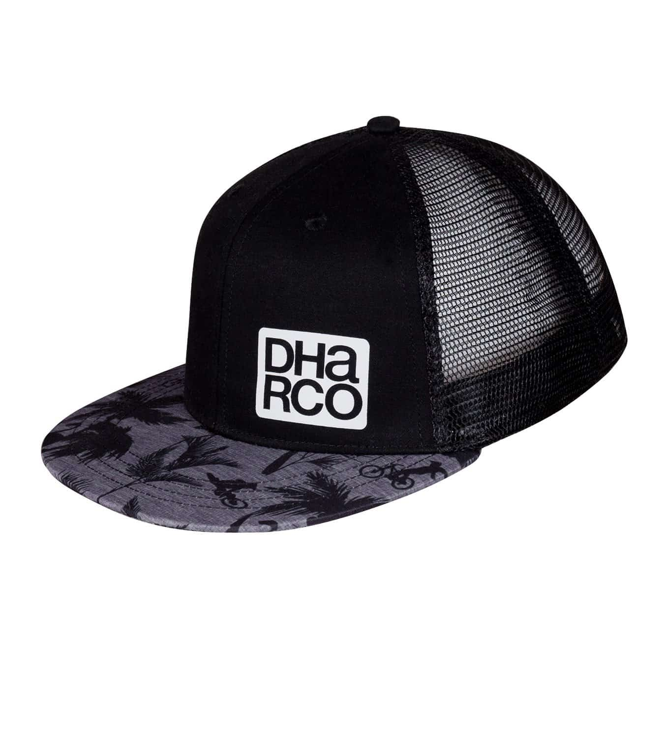 DHaRCO Flat Brim Trucker Cap - Party Stealth