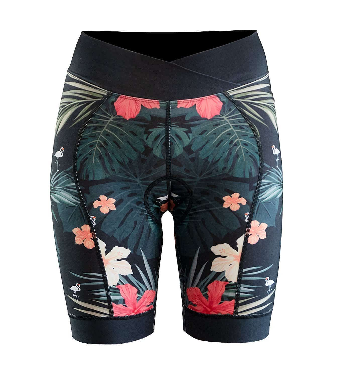 DHaRCO Ladies Padded Party Pants | Hawaiian Flamingo