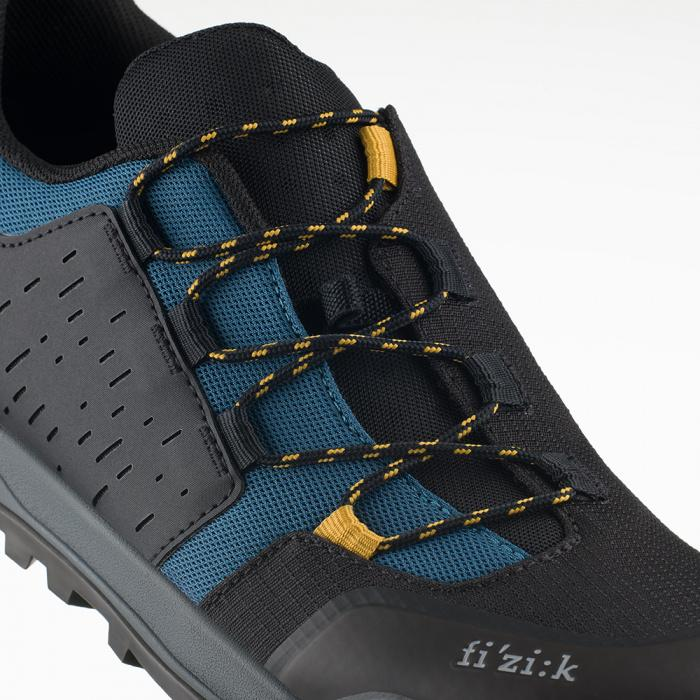 FIZIK Ergolace X2 MTB Shoe Black/Teal