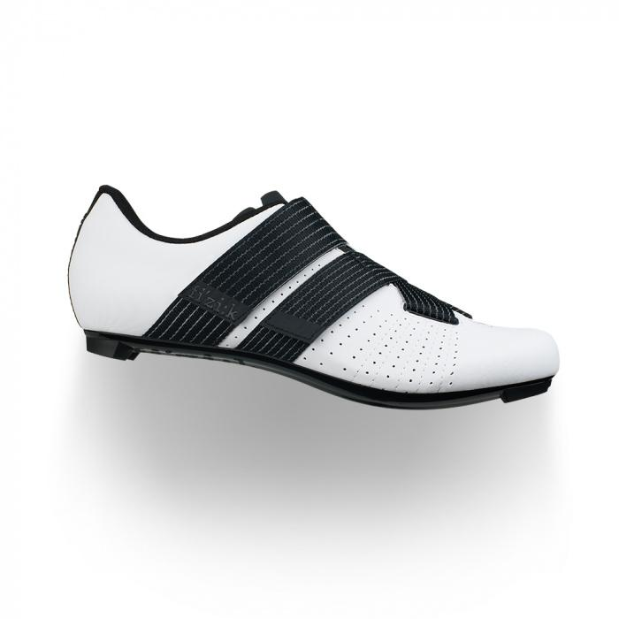 FIZIK Tempo Powerstrap R5 Roadshoe (White/Black)