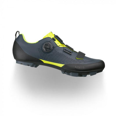 FIZIK Terra X5 MTB Shoe (Grey/Yellow)