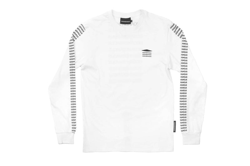 GOD & FAMOUS Believe Long-Sleeved T-shirt