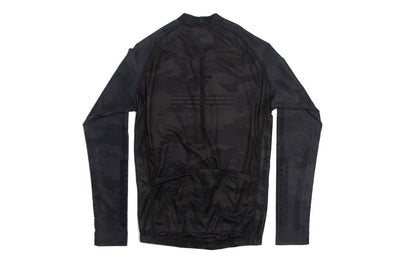 GOD & FAMOUS Black Camo Long-sleeved Jersey