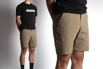 GOD & FAMOUS Commuter Shorts (Khaki)