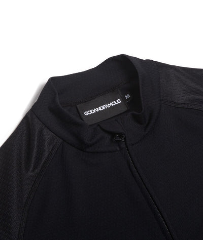 GOD & FAMOUS Low Key Jersey Black