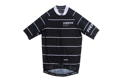 GOD & FAMOUS Rules Cycling Jersey Black