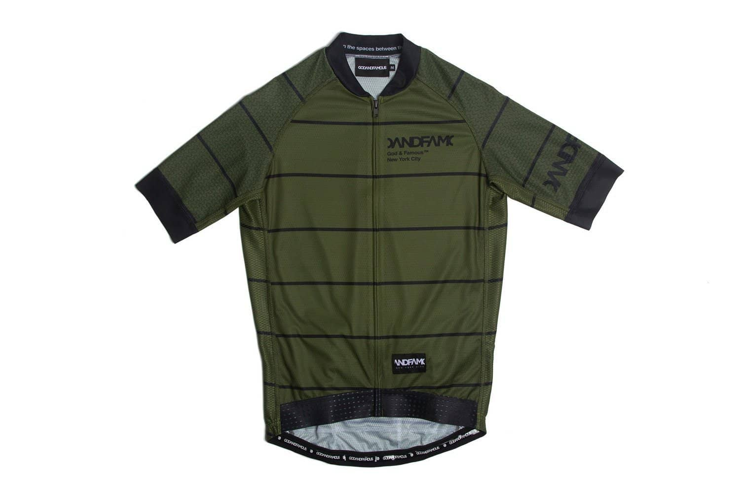 GOD & FAMOUS Rules Jersey Olive Green