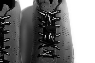 GOD & FAMOUS Team Laces (black)