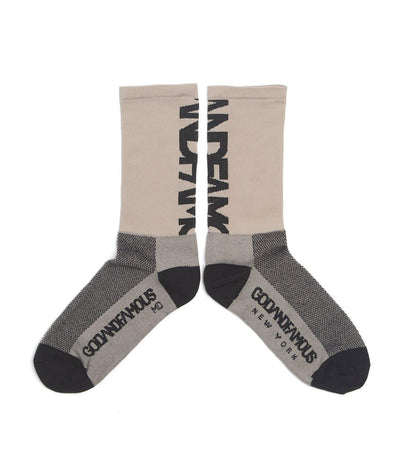GOD & FAMOUS Team Sock Khaki