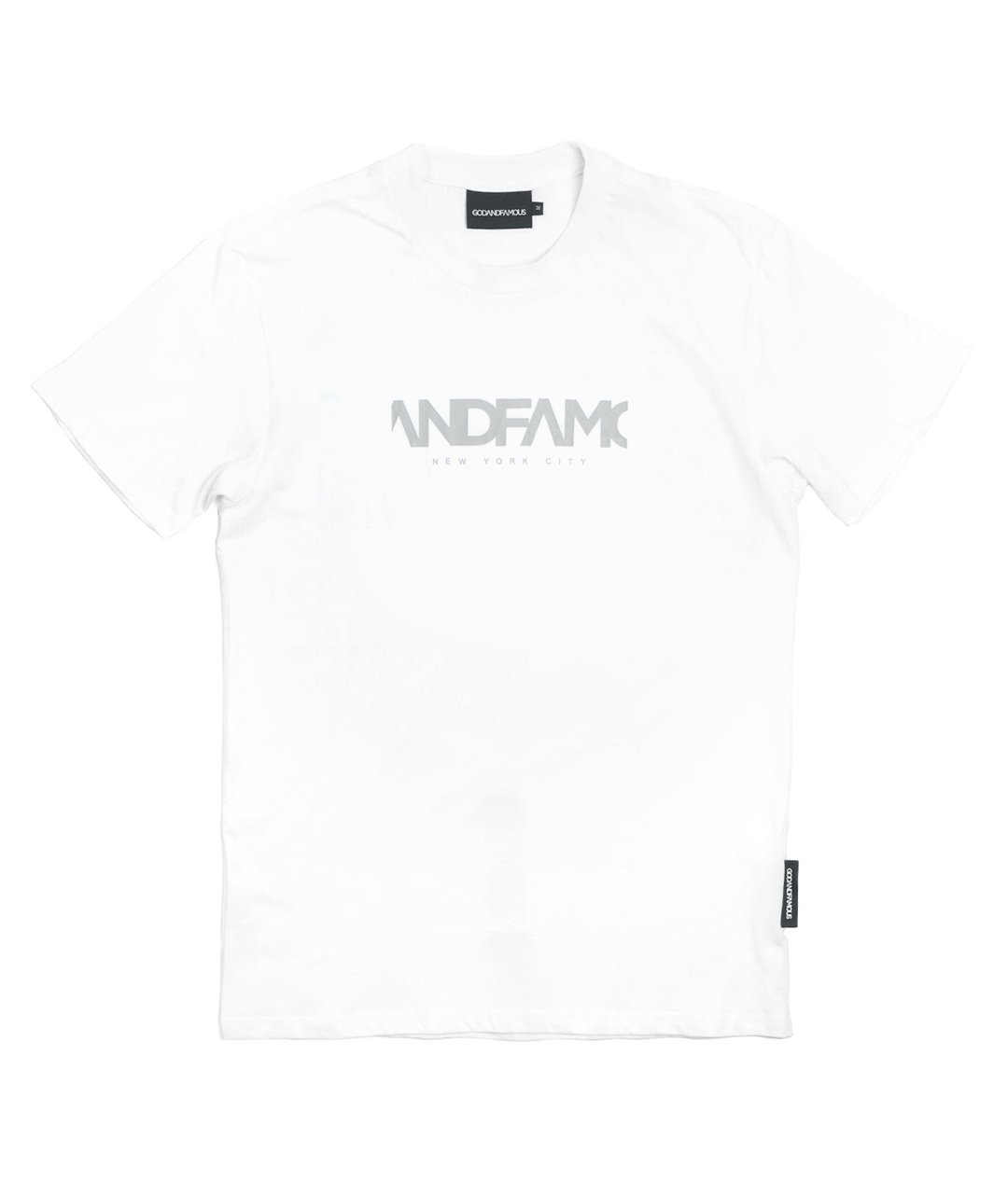 GOD & FAMOUS Team T-shirt (White)