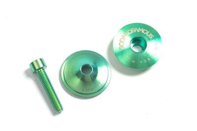GOD & FAMOUS Team Titanium Top Cap Green