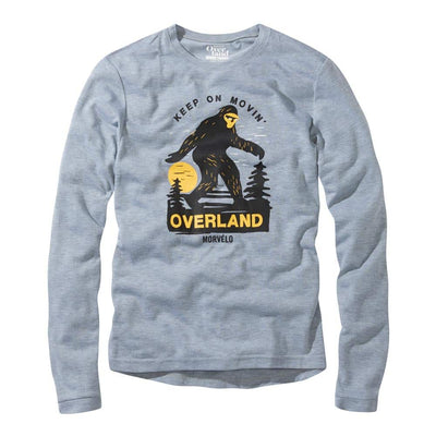 MORVÉLO Movin Overland Long Sleeve Tech Tee
