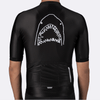 PEDAL MAFIA Artist Series Cycling Jersey for Men - Great White (Black)
