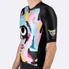 PEDAL MAFIA Artist Series Cycling Jersey for Men - Techno Cat