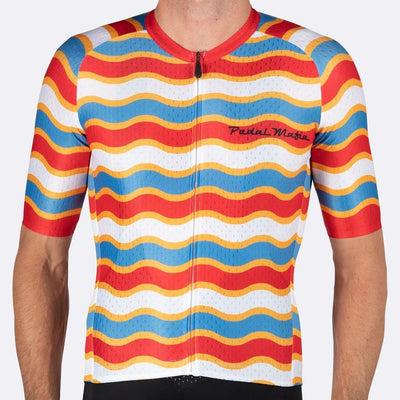 PEDAL MAFIA Artist Series Cycling Jersey for Men - Tijuana