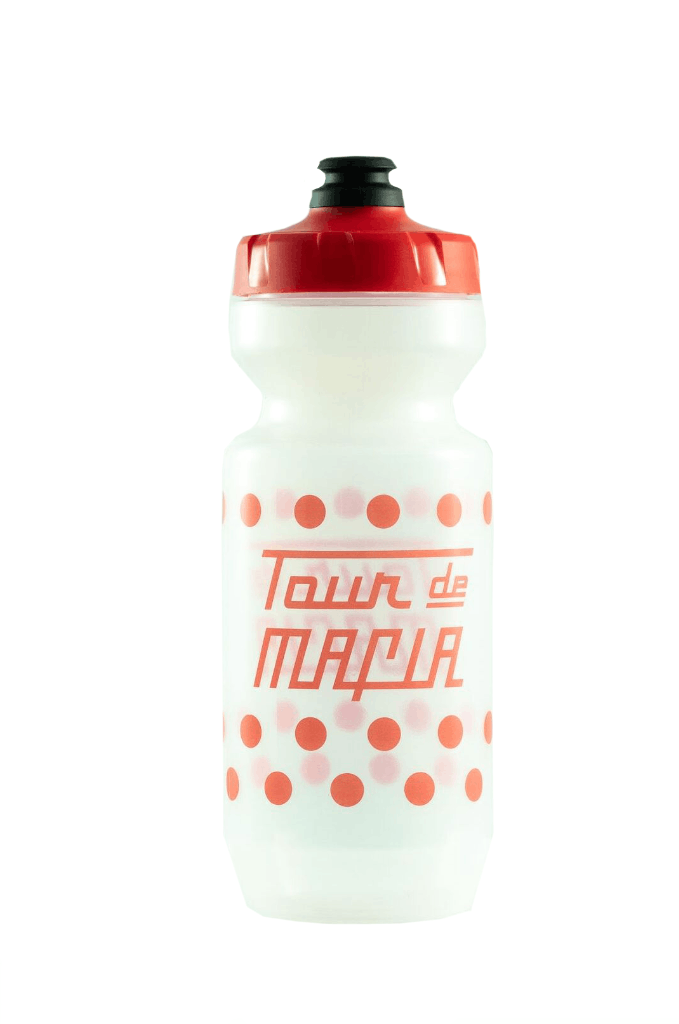 PEDAL MAFIA Tour De Mafia Bottle / Bidon - Polka Dot