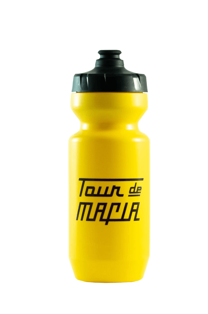 PEDAL MAFIA Tour De Mafia Bottle / Bidon - Yellow