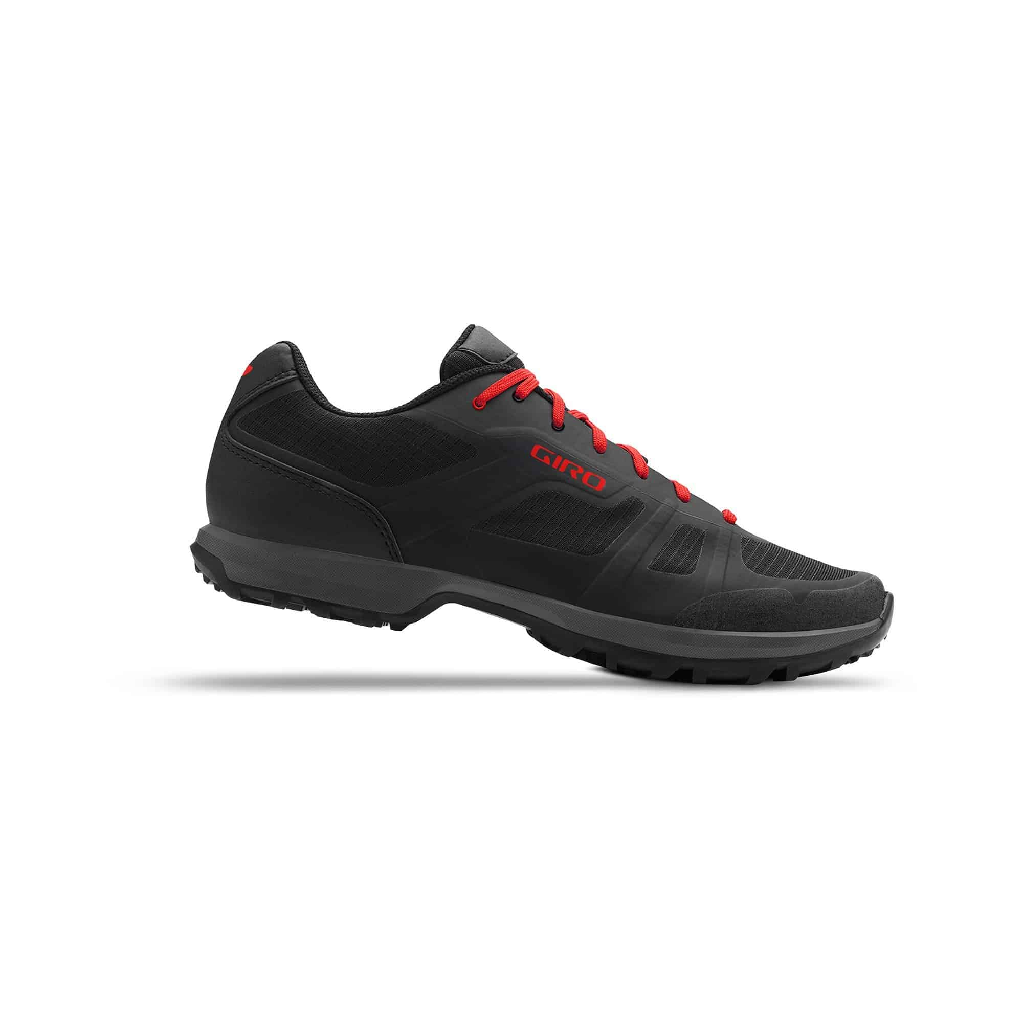 GIRO Gauge Cycling Shoe (Black / Red)