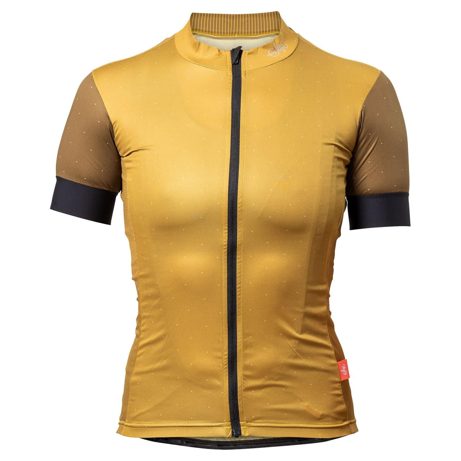 SIGR 'Gullviva' Yellow Cycling Jersey for Women