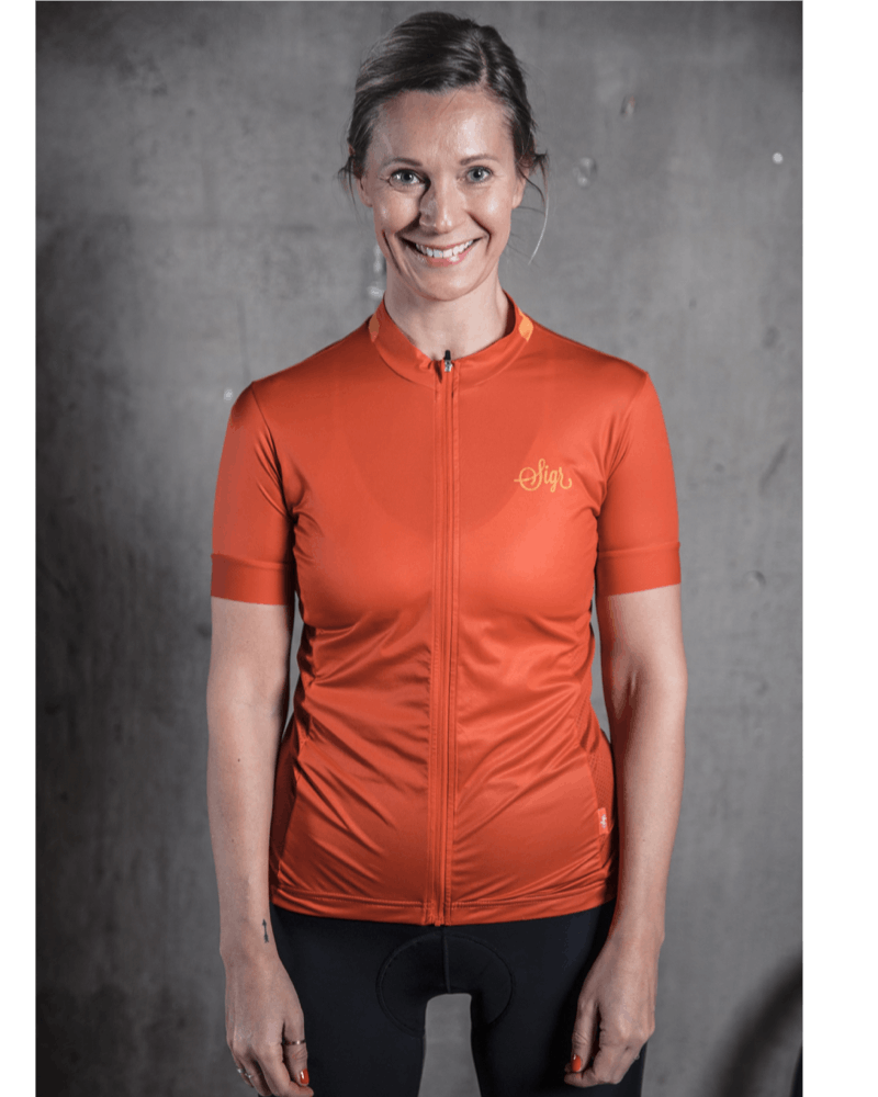 SIGR 'Havtorn' Orange Jersey for Women