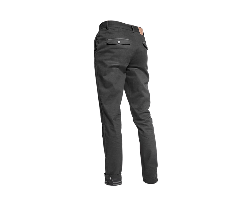 SIGR 'Riksväg 99' Cycling Chinos in Black for Men