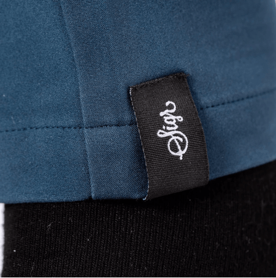 SIGR 'Riksväg 99' Cycling Chinos in Petrol Blue for Men