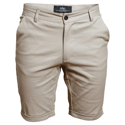 SIGR 'Strandvägen' Cycling Chino Shorts in Khaki for Men