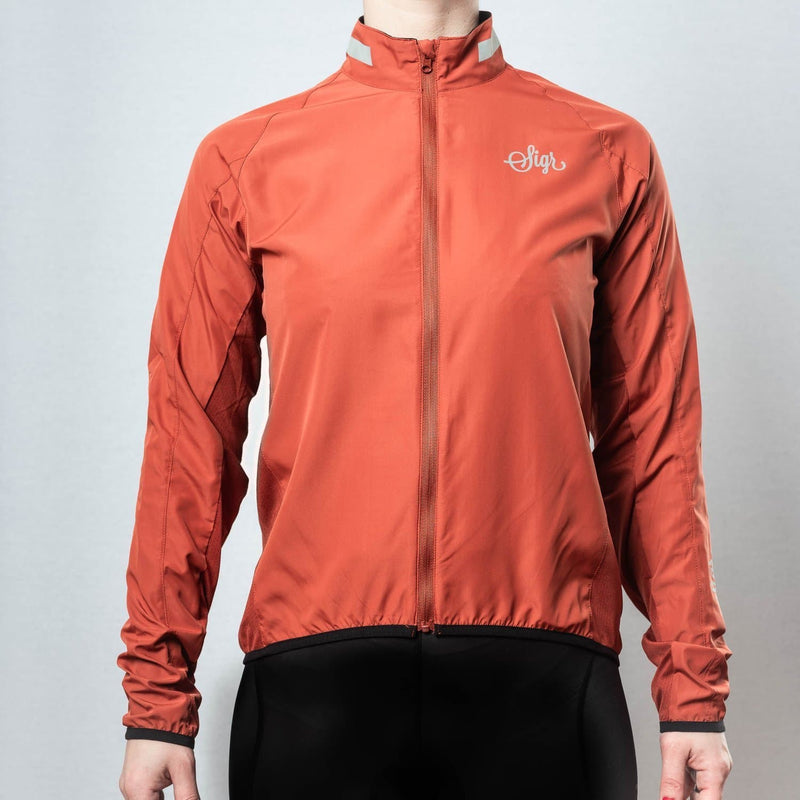 SIGR 'Treriksröset Red' Pack Jacket for Women