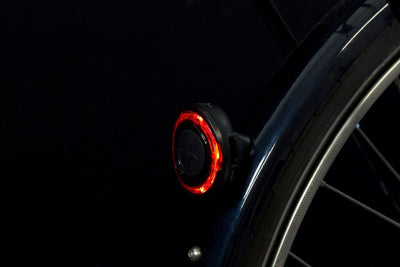 SPANNINGA Rear light O-Guard Black