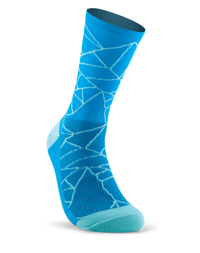 SUBLIME HEROICS Cracked Socks (bright blue)