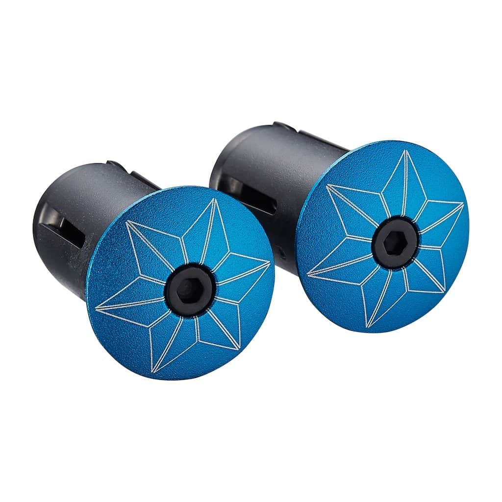 SUPACAZ Star Plugs Powder Coated (Blue)