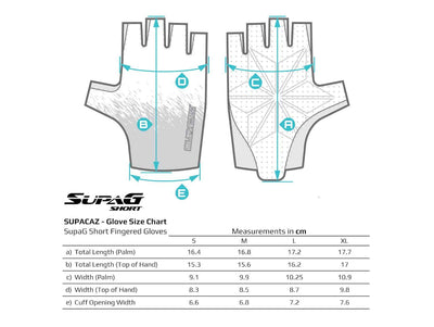 SUPACAZ SupaG Short Gloves Twisted (Pink)