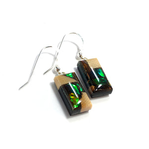 Ammolite_gem_jewelry_and-Mammoth_tusk_earrings
