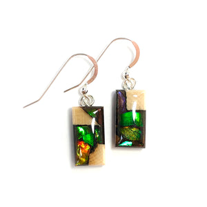 Ammolite_gemstone_jewelry_and-Mammoth_tusk_earrings