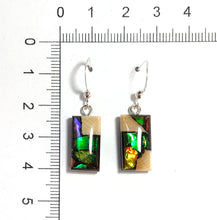 Load image into Gallery viewer, Ammolite_gemstone_jewelry_and-Mammoth_tusk_earrings_size