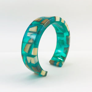Emerald Ice Slim Bracelet