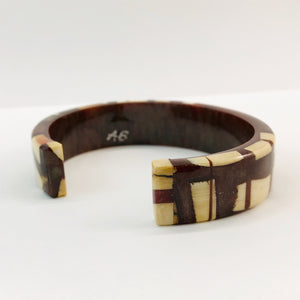 Frozen Tundra Brown Slim Bracelet