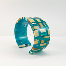 Load image into Gallery viewer, Mammoth_ivory_and_resin_bracelet_jewellery_bangle