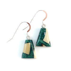 Mammoth_tooth__and_resin_earrings_forest_green