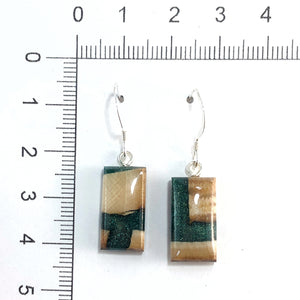 Mammoth_tooth__and_resin_earrings_forest_green_size