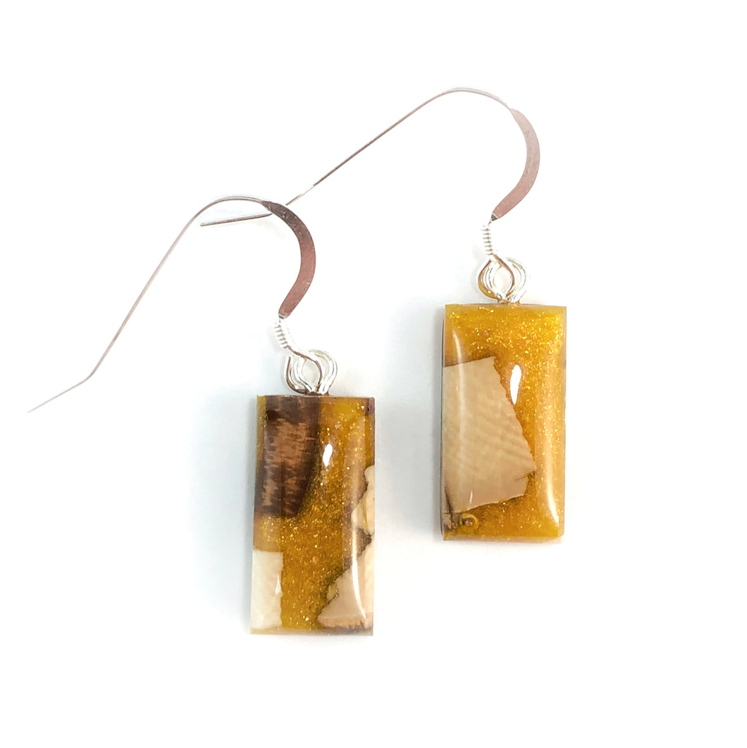 Prehistoric_ivory_and_resin_Hook_earringsMustard_gold