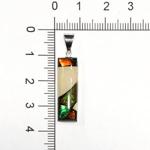 Small Dima Rectangle Pendant