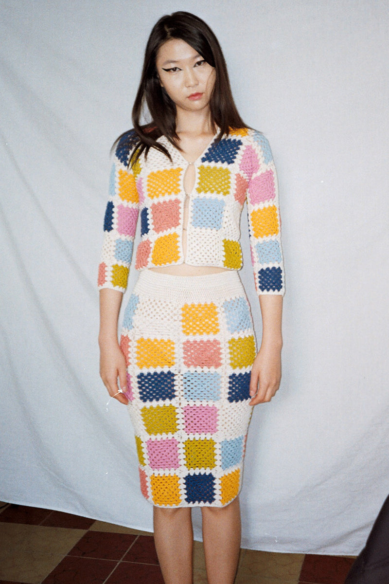 The Marta Sweater in Ice Lolly