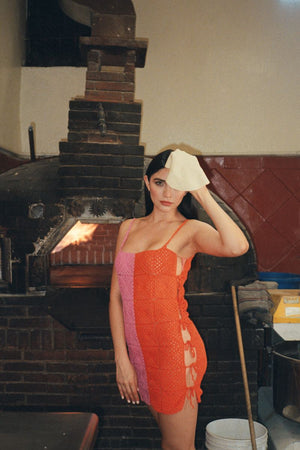 The Cuba Libre Dress in Barragán